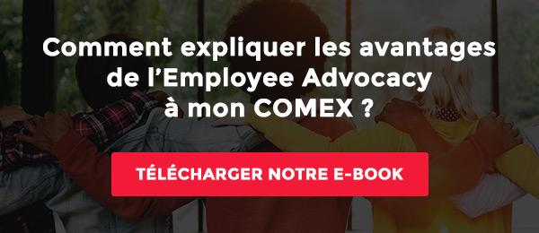 L'employye Advocacy expliqué à mon COMEX