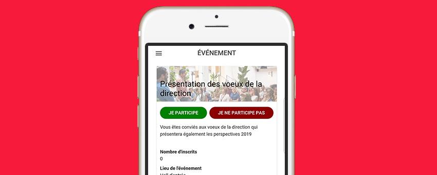 Mise à jour 2019 de l'application mobile Sharee