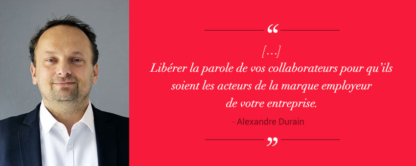 Alexandre Durain nous dit pourquoi il est important d'intégrer les réseaux sociaux dans une stratégie RH