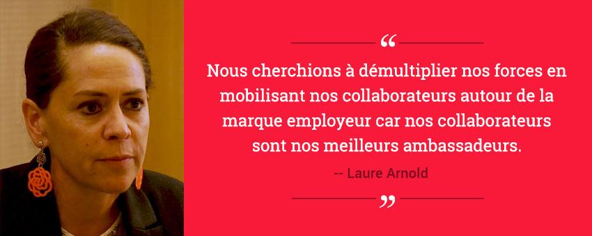 Laure Arnold, directrice générale adjointe de la société Absys Cyborg témoigne sur le déploiement de la plateforme d'Employee Advocacy Sharee