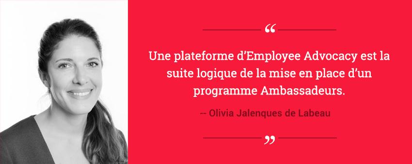 Témoignage d'Olivia sur le déploiement de la plateforme d'Employee Advocacy pour le groupe Cegos