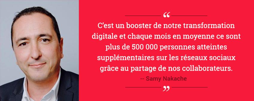 Témoignage de Samy Nakache, social media manager du Crédit Agricole Alpes Provence, sur le déploiement d'une stratégie d'Employee Advocacy dans une banque