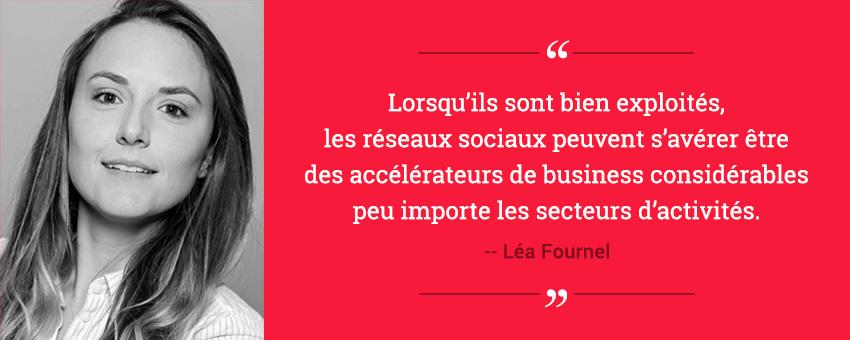Témoignage client de Léa Fournel pour le déploiement d'une plateforme d'Employee Advocacy pour un réseau de franchisés