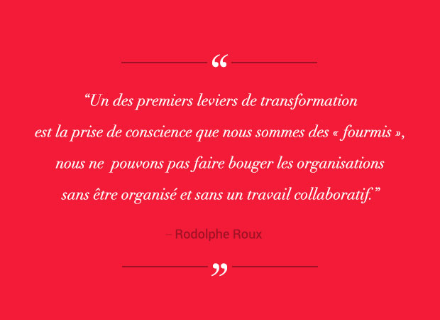 La transformation digitale est un travail collaboratif